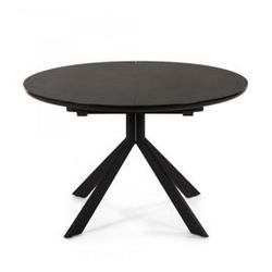 Stół hayd 120160x120 cm czarny