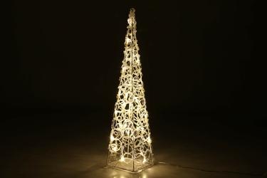 Piramida 60 led - oświetlenie ogrodowe stożkowe - lampka 90cm