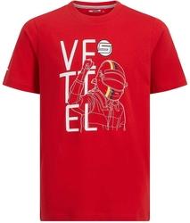 Koszulka dziecięca scuderia ferrari vettel fan