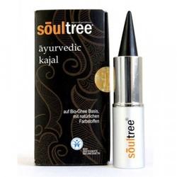 Kajal bio kolor czarny, 3 g soultree ayurvedic - bdih certyfikat ekologiczności
