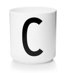 Kubek porcelanowy AJ litera C