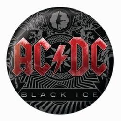 Acdc black ice - przypinka