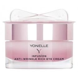 Yonelle infusion anti-wrinke rich eye cream odżywczy krem przeciwzmarszczkowy pod oczy 15 ml