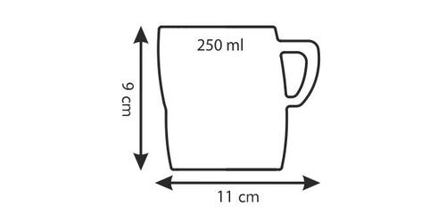 Tescoma mlecznik crema 250 ml