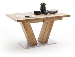 Drewniany dębowy rozkładany stół managua a  dąb dziki, 180-270 x 100 cm