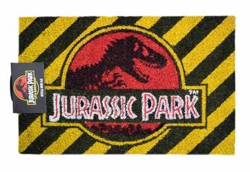 Jurassic Park Warning - wycieraczka