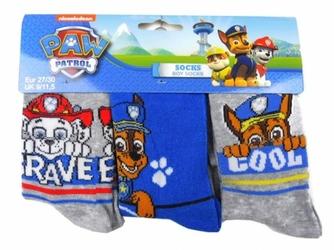 Skarpetki Psi Patrol  Brave trzypak 27-30