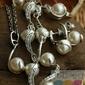 Perły i kryształki swarovskiego maestro