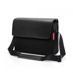 Torba courierbag 2 canvas black