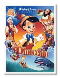 Pinokio obsada - obraz na płótnie