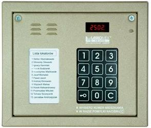 Laskomex cp-2502nr beżowy panel audio z mini listą lokatorów i z czytnikiem kluczy rfid - szybka dostawa lub możliwość odbioru w 39 miastach