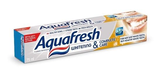 Aquafresh whitening  complete care pasta 75ml