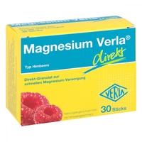 Magnesium verla direkt saszetki o smaku malinowym
