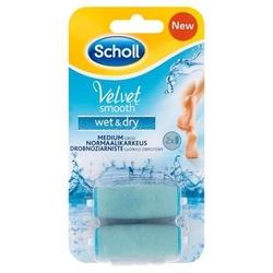 Scholl velvet smooth wet  dry wymienne głowice obrotowe x 2 sztuki