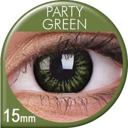 Big eyes party green