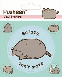 Pusheen Lazy - naklejki