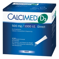 Calcimed d3 500 mg1000 i.e. direct granulat
