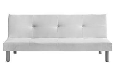 Sofa nutricia, rozkładana, biała