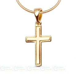 Zawieszka złota pr. 333 krzyżyk la12520