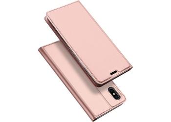 Etui dux ducis skin do apple iphone xs max różowe - różowy