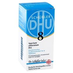 Biochemie dhu sól nr 8 chlorek sodu d12, tabletki tabl.