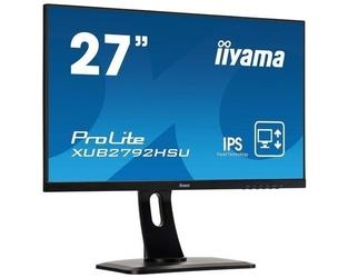 Iiyama monitor 27 cali xub2792hsu-b1 ips,fhd,hdmi,dp,vga,pivot,usb,slim