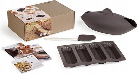 Zestaw do wypieku chleba rzemieślniczego Lekue 3 el.