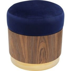 Kare design :: puf lilly niebieski ø39cm