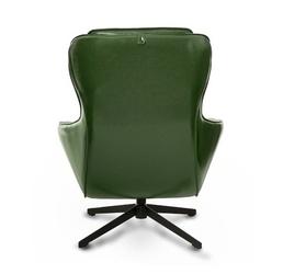 Elegancki fotel obrotowy z ekoskóry borneo