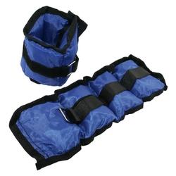 Obciążniki ob03 2 x 1,5 kg niebieskie - hms - 2 x 1,5 kg