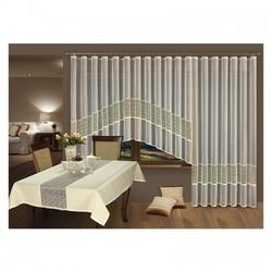 Firanki kremo 150 komplet balkonowy