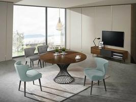 Stół  amarto 137x76 cm industrialny