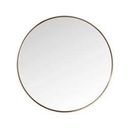 Kare design :: lustro curve round copper ø100cm