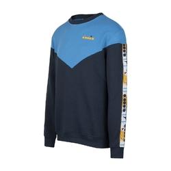 Bluza męska diadora sweatshirt crew 5palle offside v - niebieski