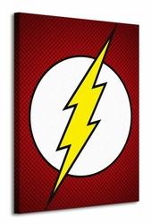 Dc Comics The Flash Symbol - Obraz na płótnie