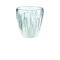 Guzzini - aqua - wazon, przezroczysty - biały