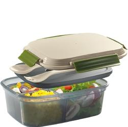 Pojemnik na lunch z wkładem chłodzącym i sztućcami cool cilio 1,25 litra ci-158403