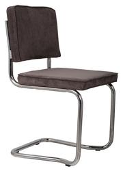 Zuiver krzesło ridge kink rib szare 6a 1100059