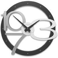 Zegar ścienny Scarlett CalleaDesign czarny 10-127-5