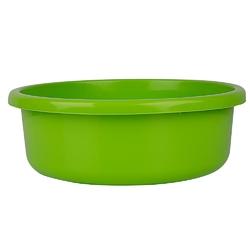 Miska na pranie  łazienkowa plastikowa bentom classic seledynowa 20 l