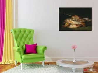 martwa natura ze złotymi leszczami  francisco goya ; obraz - reprodukcja