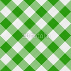 Obraz na płótnie canvas trzyczęściowy tryptyk zielony obrus