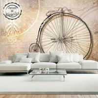 Fototapeta - vintage bicycles - sepia