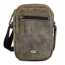 Skórzana torba unisex daag jazzy risk 157 brązowa - brązowy