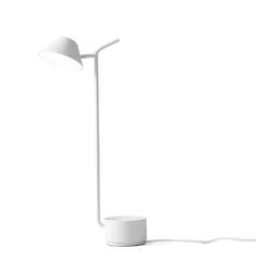 Lampa stołowa Peek biała