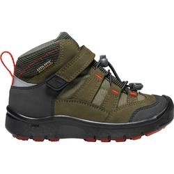 Buty trekkingowe dziecięce keen hikeport mid wp - zielony