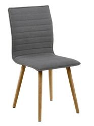 Krzesło karla light grey - szary jasny