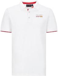 Koszulka polo red bull racing f1 biała - biały