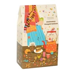Autumn inspiration - zestaw 10 herbat smakowych na jesień w opakowaniu prezentowym wraz z zaparzaczem 10x5g