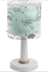 Lampka nocna chmurki stojąca na szafkę clouds niebieska